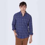 ROAD SHIRT BLUE CHECK