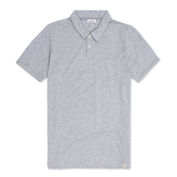 Truman Polo Heather Grey