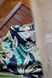 TROPICAL BLOUSE BLUE