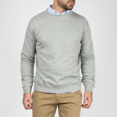 Basic Sweatshirt Heather Grey