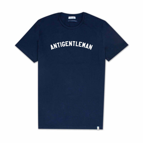 Antigentleman T-Shirt Navy