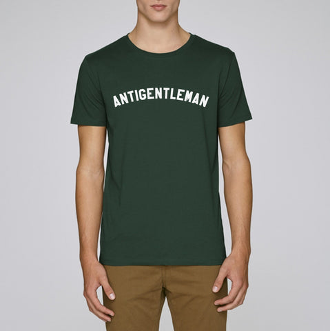 Antigentleman T-Shirt Green