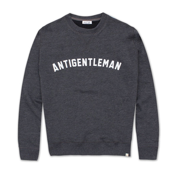 Antigentleman Sweatshirt Graphite