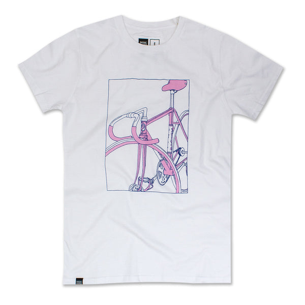 BIKE BOX PINK T-SHIRT