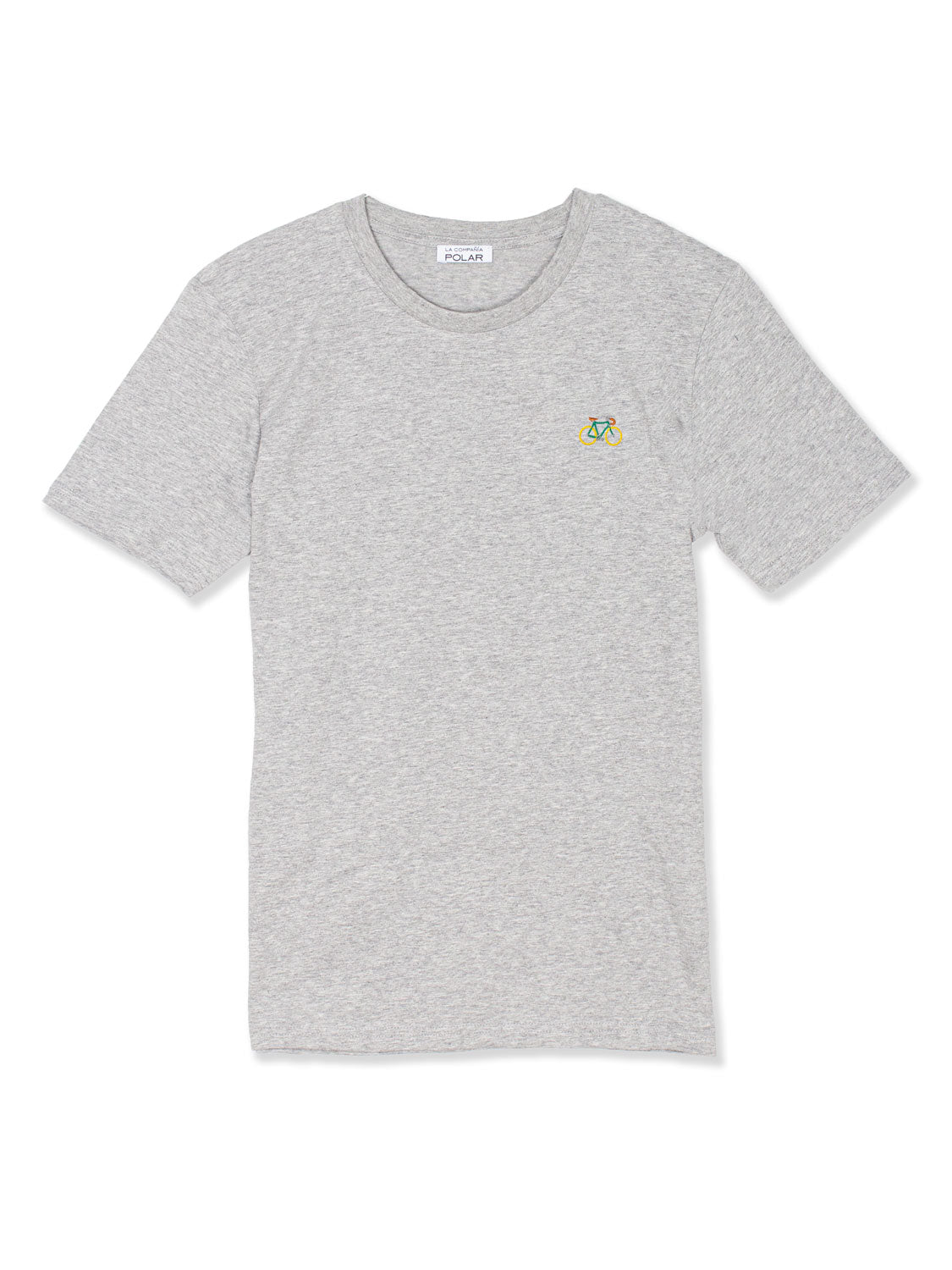 BIKE T-SHIRT HEATHER GREY