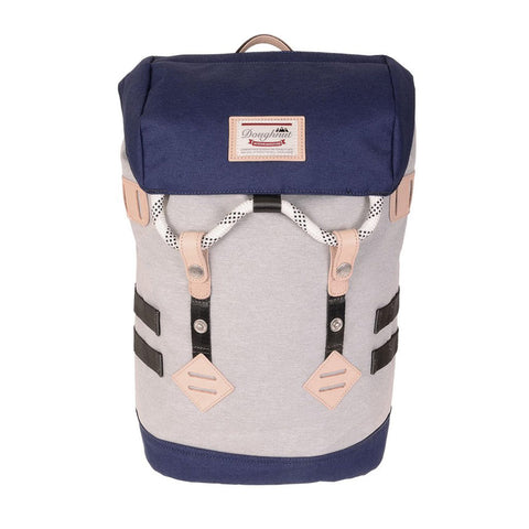 Colorado Backpack Light Grey & Navy