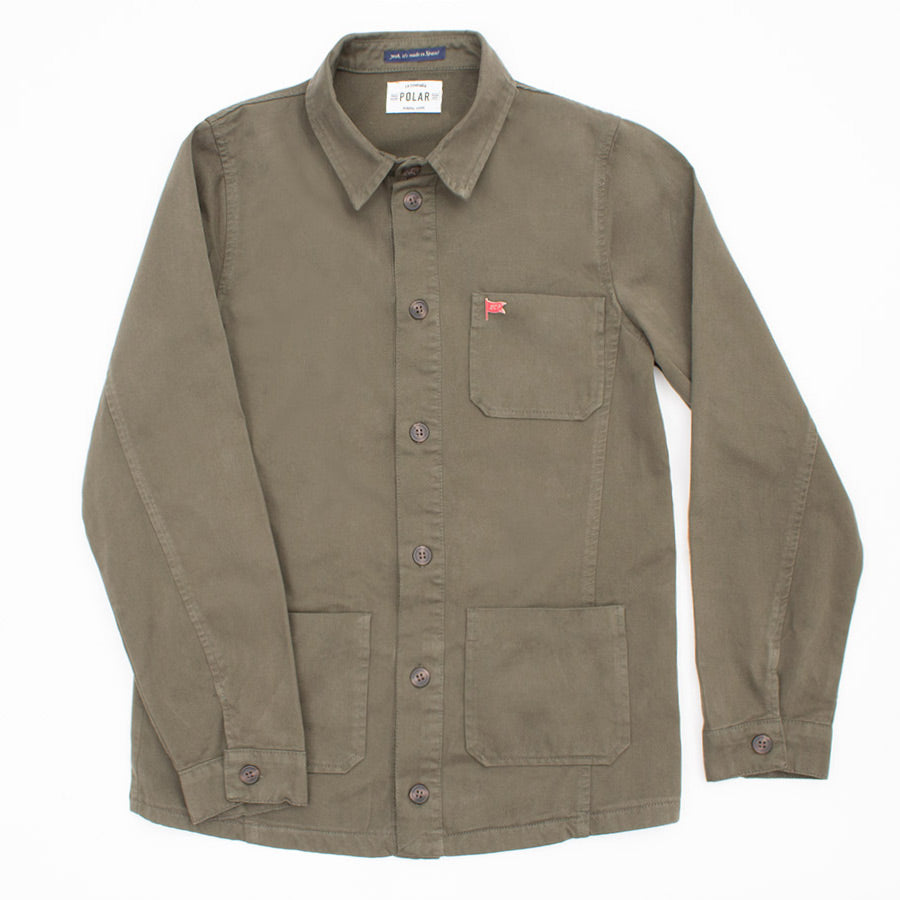 LABOUR JACKET DARK GREEN