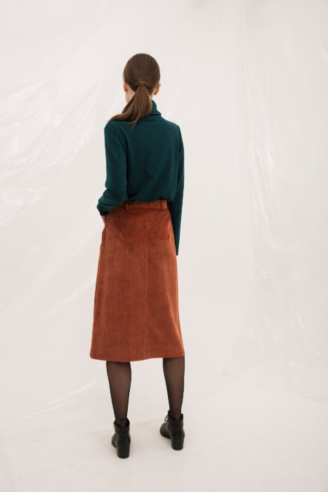 PAS SKIRT BROWN