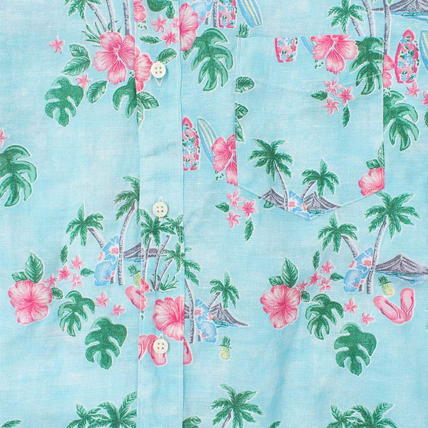 Camisa Hank Hawaii Print