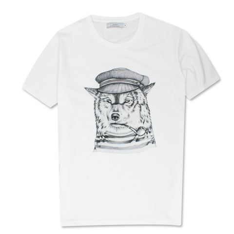Lobo de Mar T-Shirt White