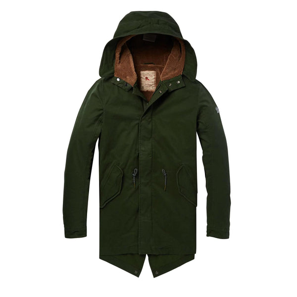 Parka Teddy Green