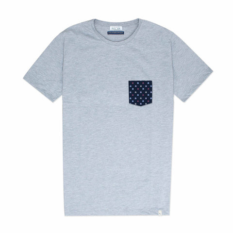 Pocket T-Shirt Flips Grey
