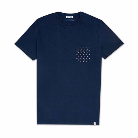Pocket T-Shirt Flips Navy