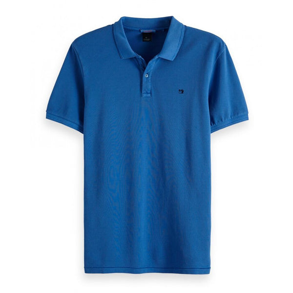 POLO PIQUÉ BRIGHT BLUE