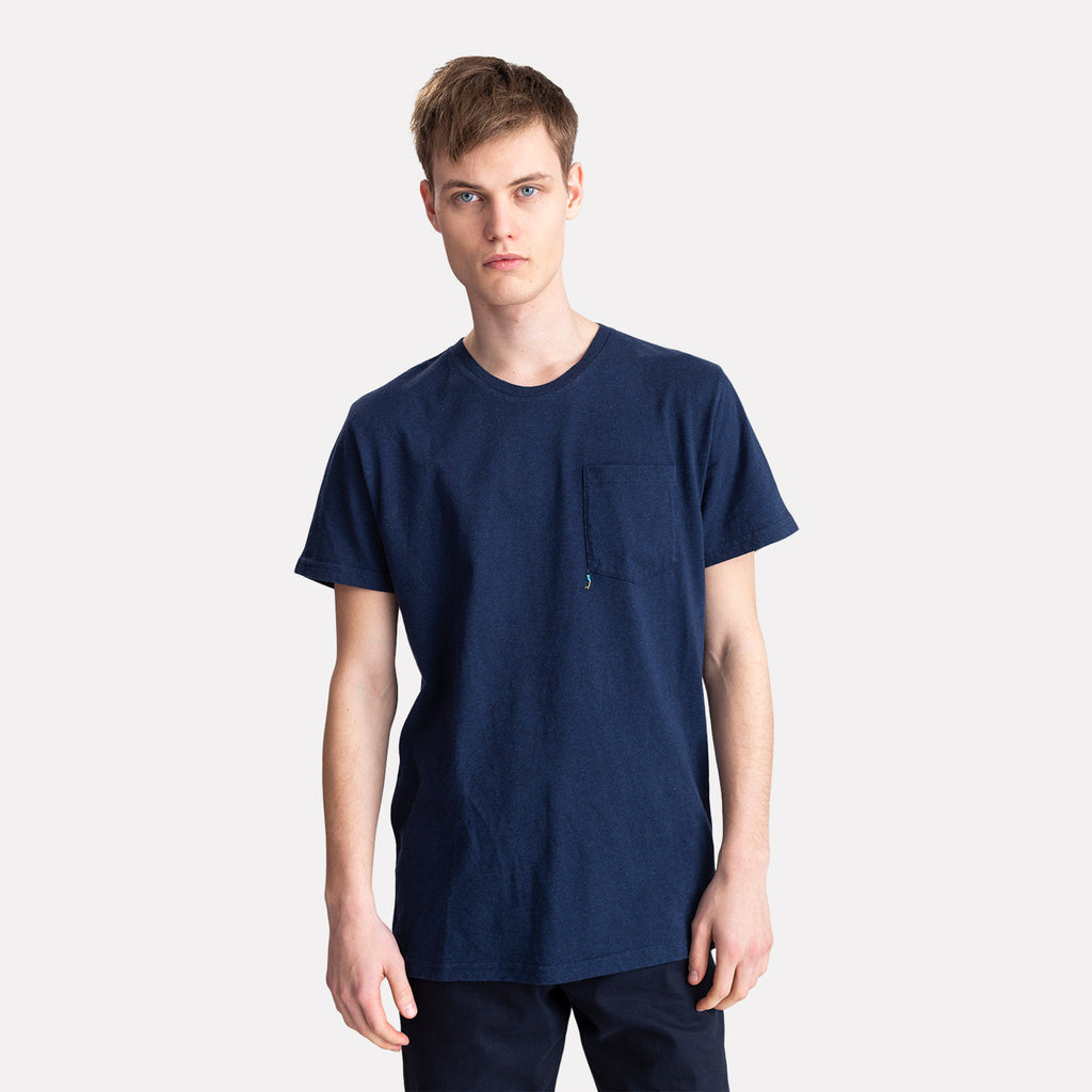 ICE T-SHIRT NAVY MELANGE