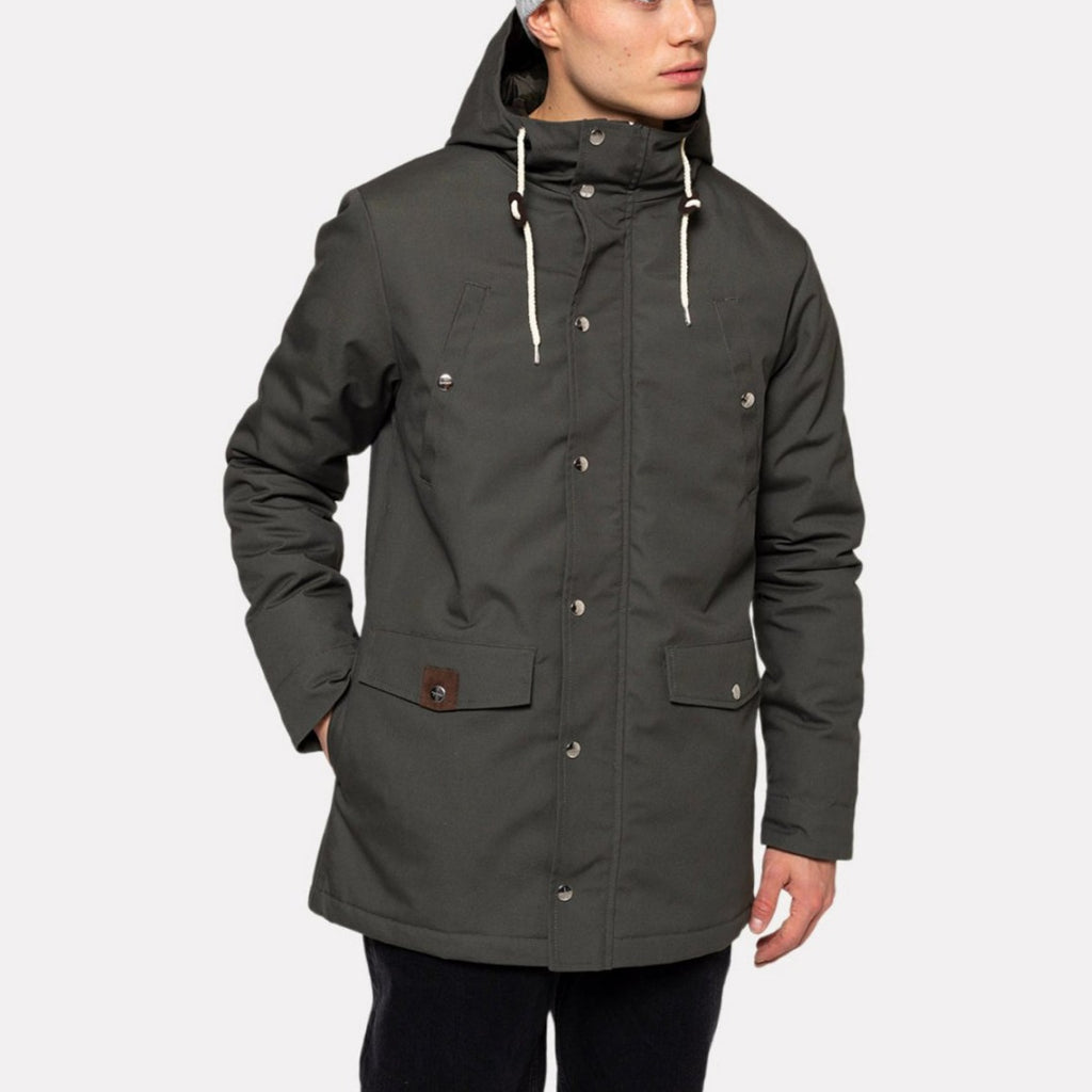 STANDARD LONG PARKA GREEN
