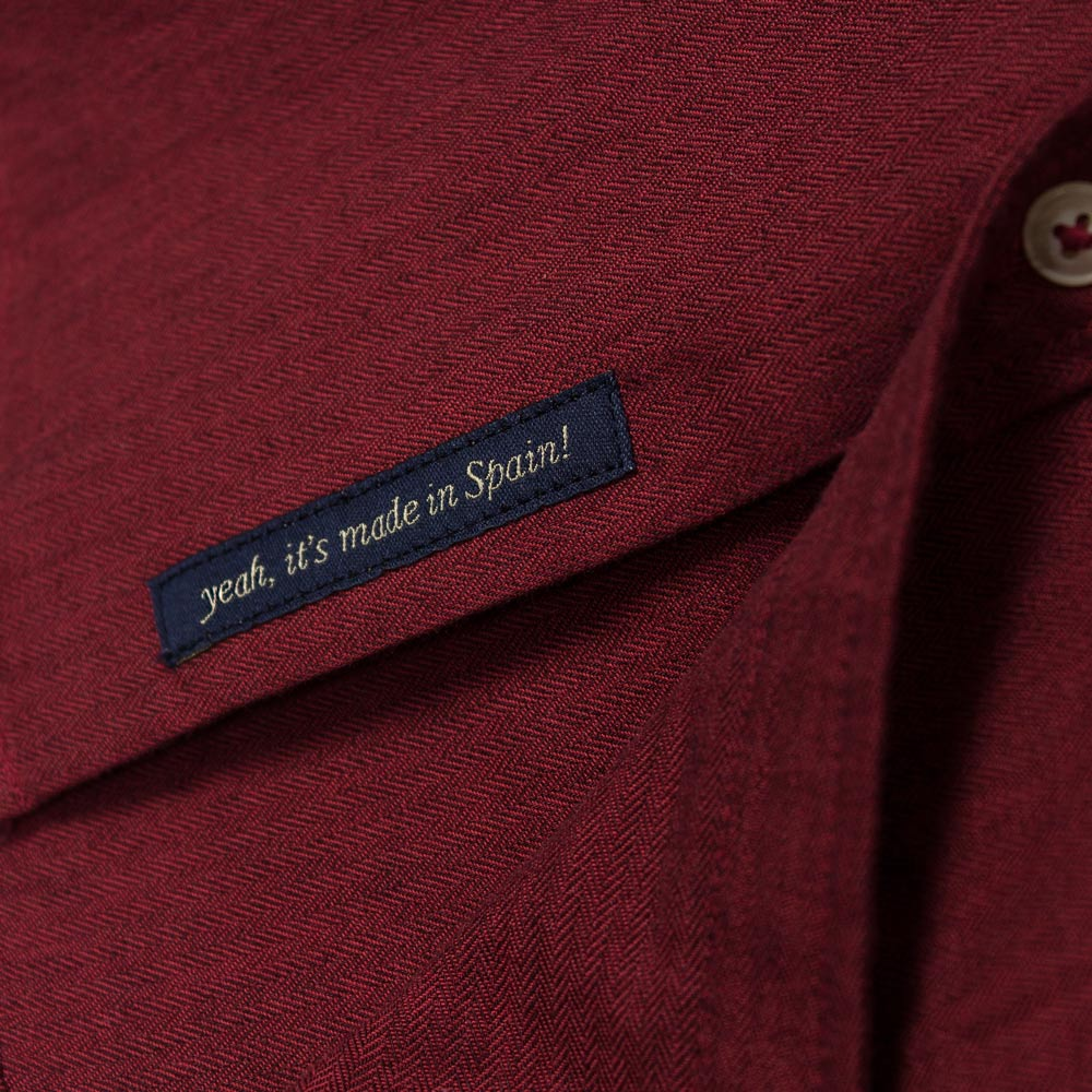 ROAD SHIRT DARK RED