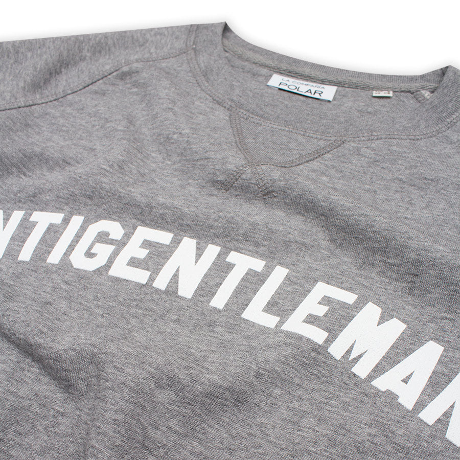 Antigentleman Sweatshirt Grey