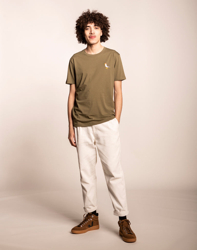 MOUETTTE OLIVE T-SHIRT