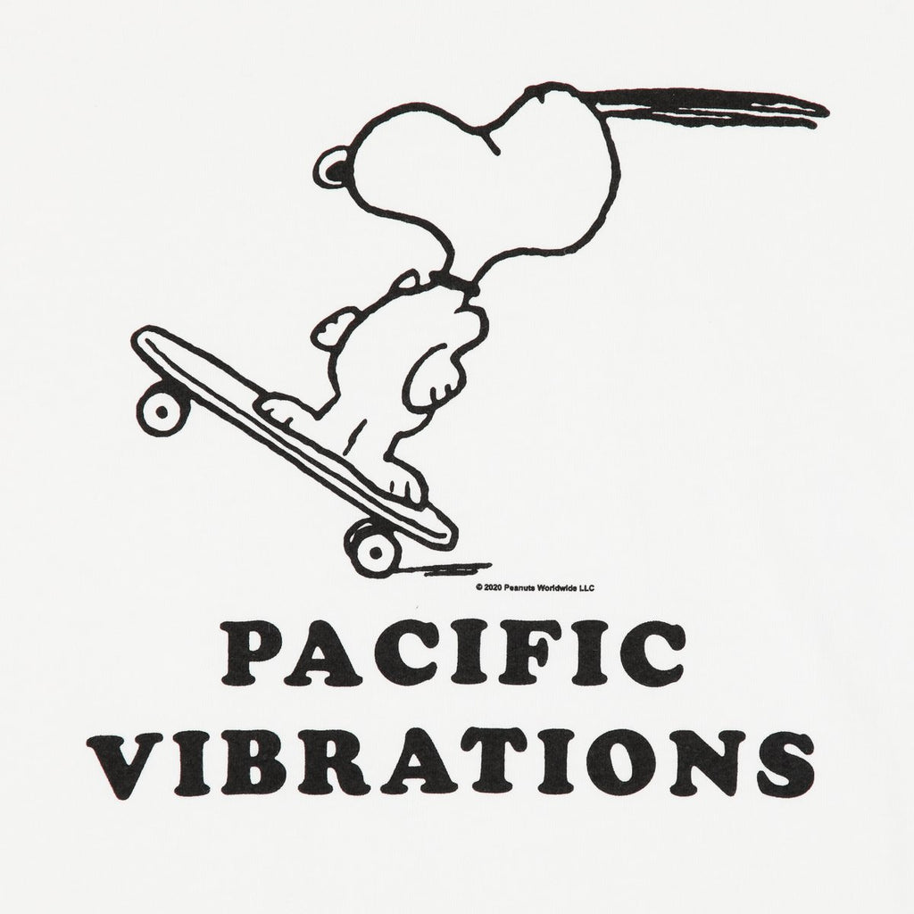 PACIFIC VIBRATIONS TEE WHITE