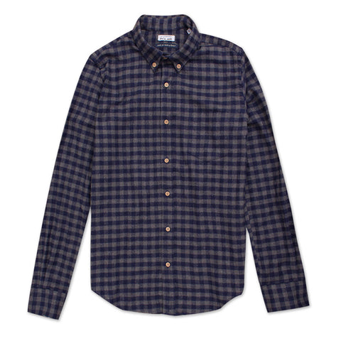 Camisa Road Grey Flannel