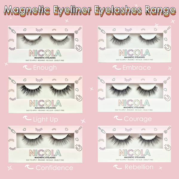 Best Magnetic Eyeliner Eyelashes Kits | Available in Australia | Nicola Cosmetics