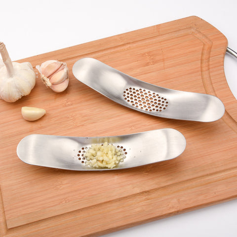 Stainless Steel Garlic Press Crusher Cooking Tools