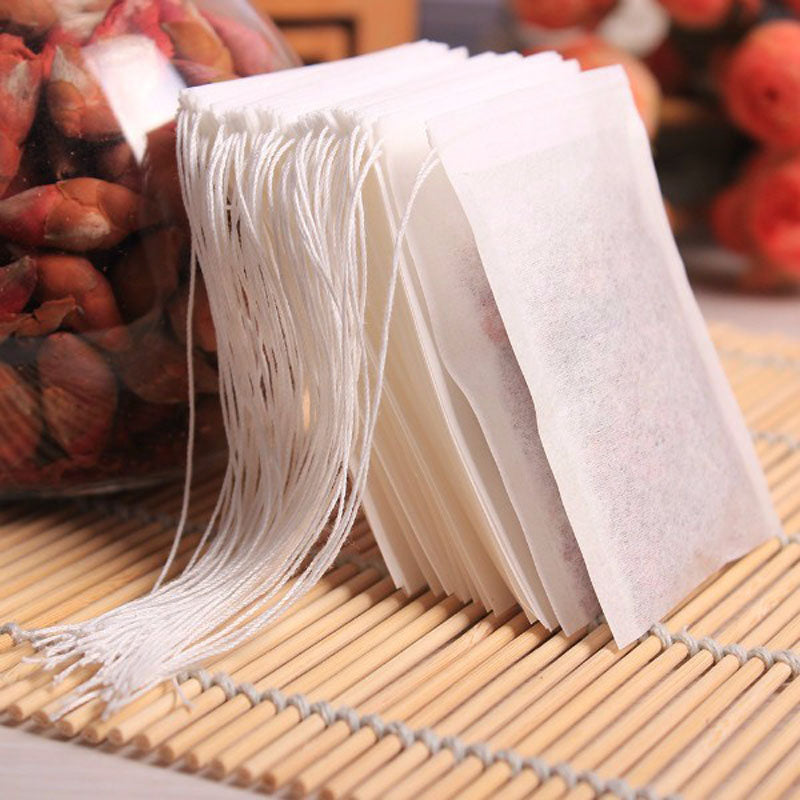 100pcs/pack 5.5 X 7cm Empty Tea Bags