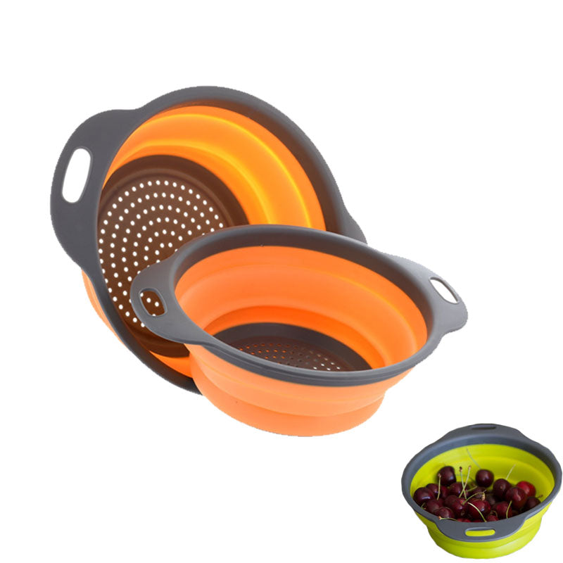 Set of 2 Collapsible Colanders