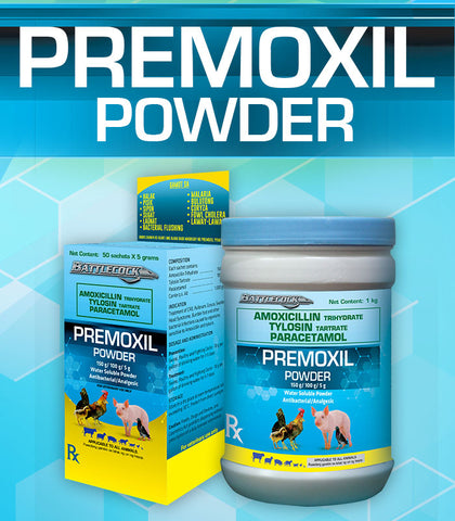 Premoxil - Gamefowl Supplies USA
