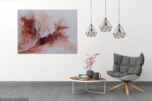 flight of rose 80x106cm FREE SHIPPING