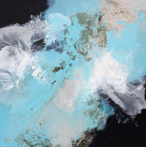 Restless Waters 125x125cm Free Shipping