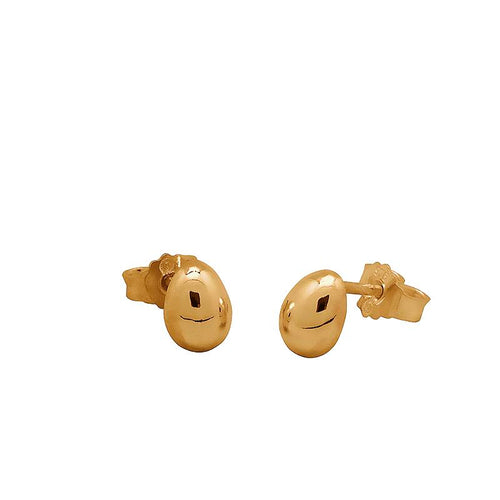 Egg studs forgylt