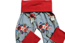 Winter Boho Floral Joggers
