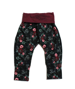 Winter Floral Joggers