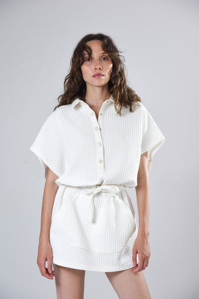 Robe Blanche Dress