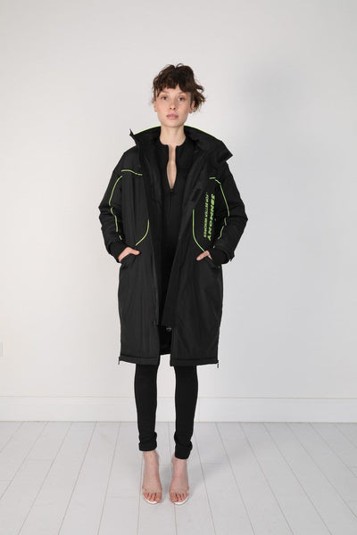 BLACK GAMER COAT