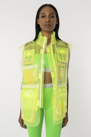 X-Ray Lime Vest