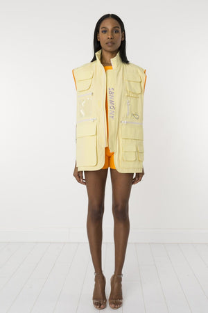 Yellow Loveproof vest