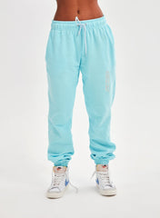 Solid Blue Sweatpants
