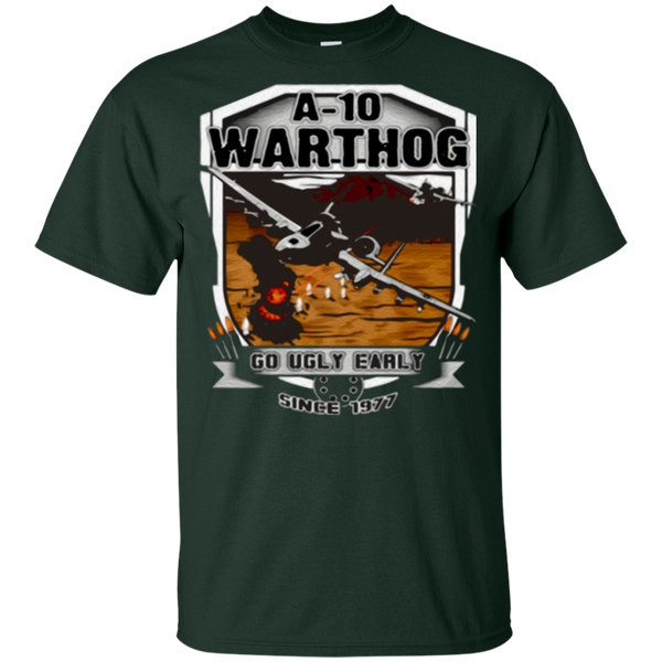 a-10 warthog, go ugly early since 1977 t-shirt - Gifshirt