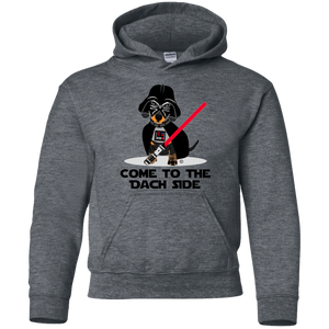Come to the Dach Side Dachshund Kid hoodie - Gifshirt