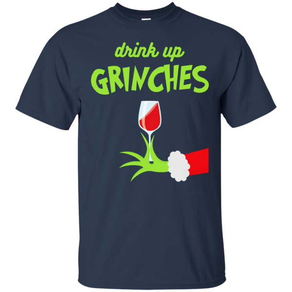 Drink Up Grinches Funny Christmas Shirt - Gifshirt