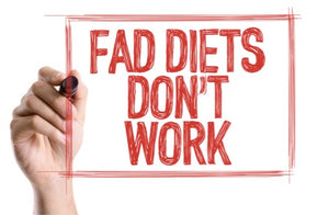 Use a plant based diet as fad diets do not work