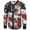 EXCLUSIVE - 3D AMERICAN EAGLE JERSEY