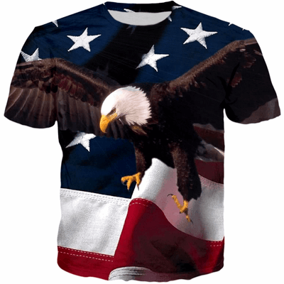 2017 AMERICAN EAGLE USA T-SHIRT V1