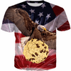 EAGLE & COOKIE USA T-SHIRT