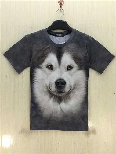 NEW GALAXY WOLF 3D T-SHIRT
