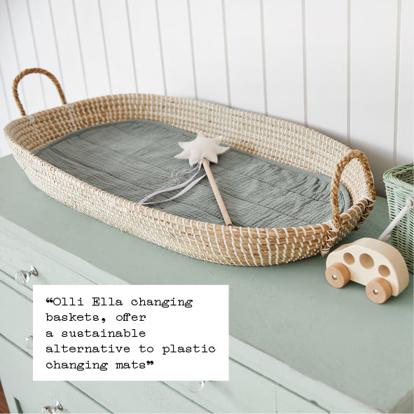 Baby Nursery Decor Olli Ella Changing Basket