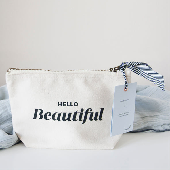 Small Bob Makeup Pouch